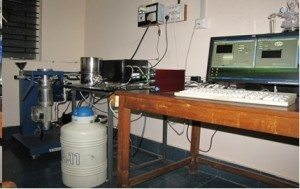 Ionic Conductivity measurement set up