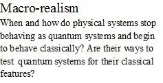 Macro-realism