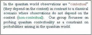 contextual observ